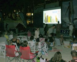 Surf Movie on Waikiki Beach at Duke's Oceanfest