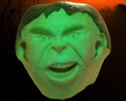 Hawaii Pumpkin Patch: Hulk-O-Lantern