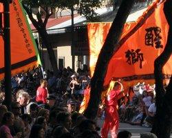 Chinese New Year Celebrations in Chinatown Honolulu
