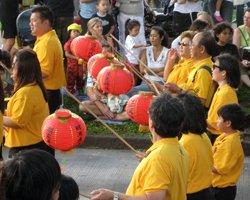 Chinese New Year Parade in Chinatown Honolulu