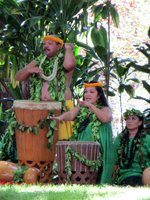 Traditional Drums at Prince Lot Hula Festival