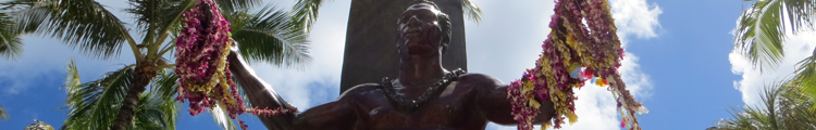 Duke Kahanamoku Statue Welcome