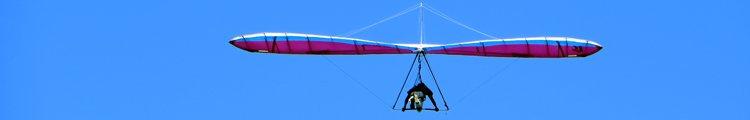 Hang Glider at Makapuu Lighthouse