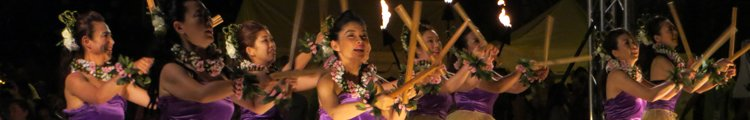 Hula Festival at the Pan Pacific Festival