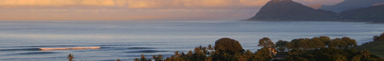 West Shore Oahu at Sunrise