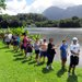 Hawaii Event Calendar: Family Fishing in Hawaii at Hoomaluhia Botanical Garden